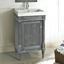 Bathrooms Design Rustic Chic Vanity Silvered Oak Fairmont Designs  Vanities Midtown 24 In Combo 49
