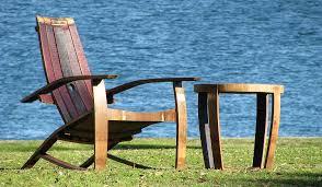 wood barrel furniture. How To Care For Wine Barrel Furniture Wood