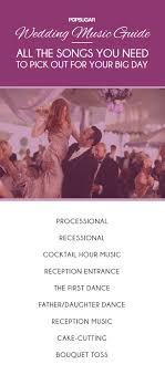 Wedding Music Guide Popsugar Middle East Celebrity And Entertainment