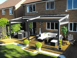 Introducing The Deans All Weather Retractable Terrace Cover. Earlsfield,  London, UK  The British experts in patio awnings, Deans Blinds and Awnings  is ...