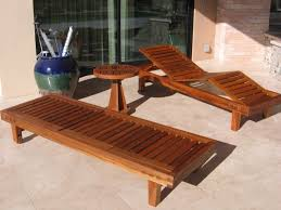 image of wood high end outdoor furniture