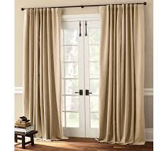 sliding glass door doors best 25 curtains for french ideas on