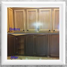 Primer For Kitchen Cabinets Diy Kitchen Cabinet Makeover Primer Metallic Bronze Paint