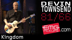 <b>Devin Townsend</b> performs 'Kingdom' for EMGtv - YouTube