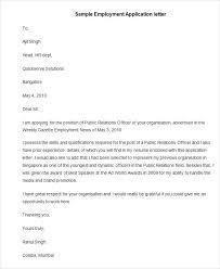 Job Application Letter Bravebtr