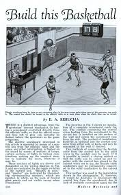 build this basketball scoreboard for your gym modern mechanix build this basketball scoreboard for your gym jan 1933