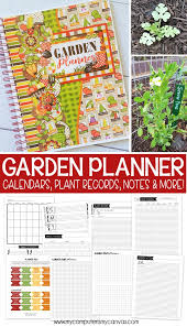 garden planner journal free weekly to do page