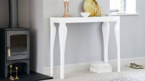 white hallway console table. Medium Size Of Table Design:narrow White Hall Distressed Console Wrought Iron Hallway