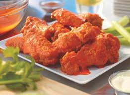 nutrition 8 wings 960 calories 65 g fat 14 g saturated fat 0 g trans fat 2 830 mg sodium 19 g carbs 3 g fiber 1 g sugar 74 g protein