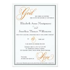 249 best christian wedding invitations images on pinterest Wedding Invitations Wording With God orange god is love christian wedding invitations wedding invitations wording with god