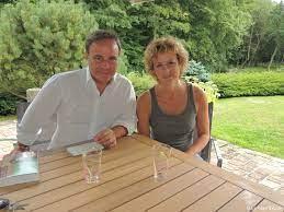En terrasse avec Anne Richard et Fabien Lecœuvre