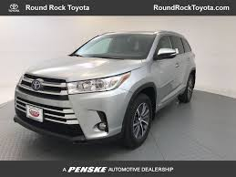 2018 New Toyota Highlander Hybrid XLE V6 AWD at Round Rock Toyota ...