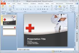 Powerpoint Templates 2007 Premium Free Powerpoint Templates And Backgrounds For Medical