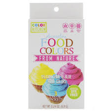 Colorkitchen Decorative Food Colors From Nature 3 Color Packets Color Packets L