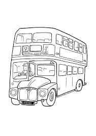 Kleurplaten Engelse Bus Brekelmansadviesgroep
