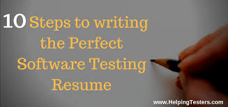 Agile Methodology Testing Resume Points To Write Perfect And Most Recruitable Qa Resume