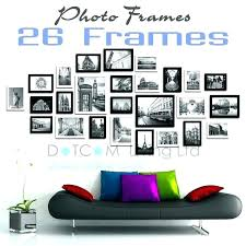 large multi picture frames wall frame set photo with high quality black