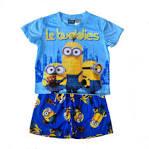Despicable Me Minion Button Front Toddler Pajamas for Little Boys