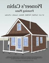free a frame home building plans new pioneer s cabin tiny house plans
