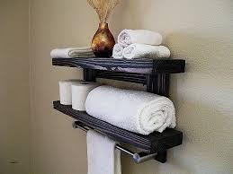 bathroom towel storage wall mounted fresh floating shelves intended for decor rack99 storage