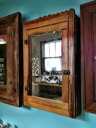 Antique Medicine Cabinet Antique Scalloped Medicine Cabinet