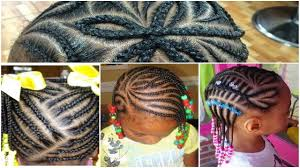 Braids For Little Black Girl Hair Style beautiful black little girl hairstyles with braids 2017 youtube 5322 by wearticles.com