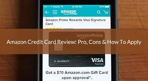amazon credit card review pro cons