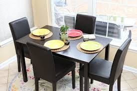 4 Person Kitchen Table Amazoncom Table Chair Sets Home Kitchen