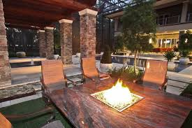 fire pit dining table. Luxury Fire Pit Dining Table