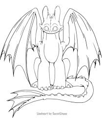Small Picture Toothless coloring page Free Printable Coloring Pages
