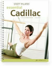 Pilates Wall Chart Stott Pilates Essential Cadillac Manual 2nd Edition