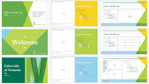 Ppt Templates For Academic Presentation Downloads And Examples University Of Vermont Creative Style Guide