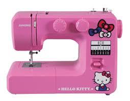 Janome 14412 Pink Hello Kitty Sewing Machine With Bonuspack