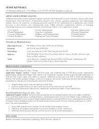 Desktop Support Analyst Resume Support Analyst Resume Desktop