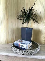 woven basket coffee table rustic serving tray coffee table tray large round wicker woven tray basket