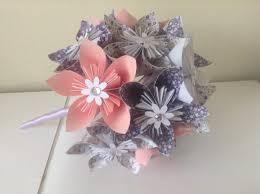 Paper Origami Flower Bouquet Decor Origami Kusudama Paper Flower Bouquet 2601569 Weddbook