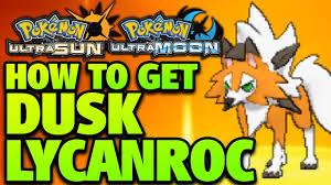 Pokemon Vortex Evolution Chart How To Get Dusk Lycanroc How To Evolve Rockruff Into Dusk Lycanroc