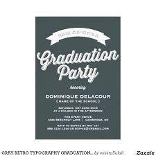 Graduation Party Card Invitations College Graduation Party