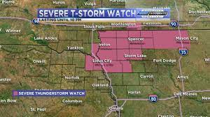Severe Thunderstorm Watch issued until ...