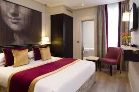 Hotel Edgar Quinet Hotel Chaplain Paris France Bookingcom