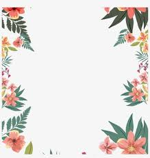 Floral Borders For Word Border Png Picture Floral Border For Word Documents Png