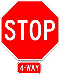 Image result for 4 way stop