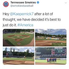 Betsy Field Design Chicago Cubs Affiliate Trolls Colin Kaepernick With Betsy