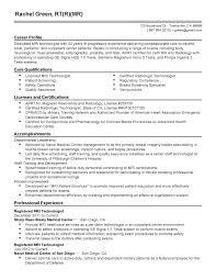 Radiologic Technologist Resume Examples Simple Qa Technician Resume Sample Elegant Radiologic Technologist Resume