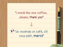 It means coffee with milk, but it's only used for coffee at home, in a big bowl for breakfast for instance. 3 Simple Ways To Order Coffee In French Wikihow