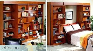 sliding bookcase murphy bed. Simple Bookcase Murphy Bed Bookcase Architecture Exclusive Sliding  In Sliding Bookcase Murphy Bed A