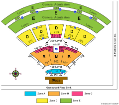 Molson Amphitheatre Detailed Seating Chart Walmart Amp Detailed Seating Chart 2019