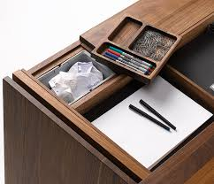 close up of the cubus writing desk