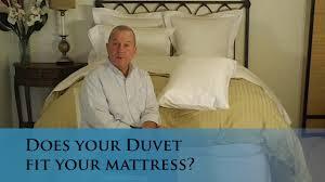 does your duvet cover fit your bed mattress verolinens com