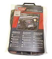 amazon com warn 13917 soft winch cover automotive